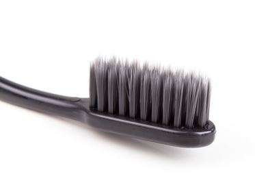 tapered charcoal toothbrush